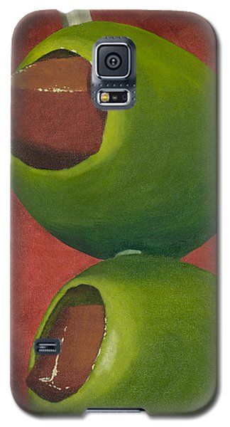 Two Olives In Search Of A Bloody Mary Galaxy S5 Case by Garry McMichael