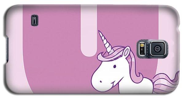 U Galaxy S5 Case by Gina Dsgn