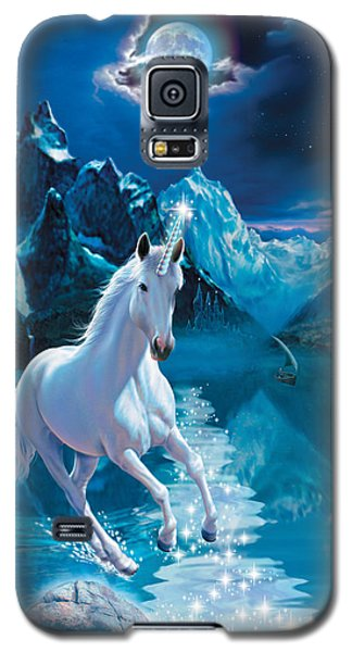 Unicorn Galaxy S5 Case by Andrew Farley