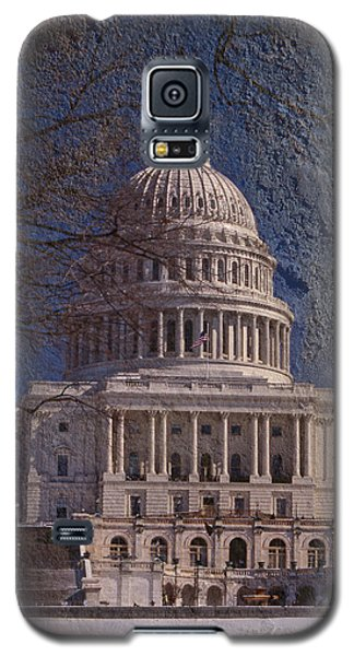 United States Capitol Galaxy S5 Case by Skip Willits