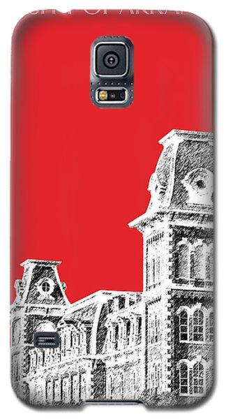 University Of Arkansas - Red Galaxy S5 Case by DB Artist