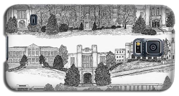 University Of Arkansas Fayetteville Galaxy S5 Case by Liz  Bryant