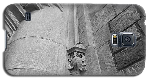 University Of Michigan Law Library Detail Galaxy S5 Case by University Icons