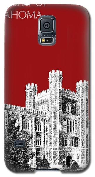 University Of Oklahoma - Dark Red Galaxy S5 Case by DB Artist