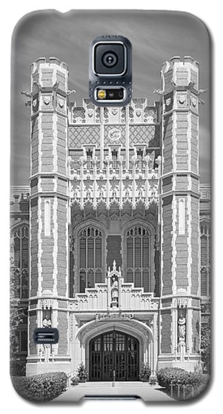 University Of Oklahoma Bizzell Memorial Library  Galaxy S5 Case by University Icons