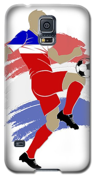 Usa Soccer Player Galaxy S5 Case by Joe Hamilton