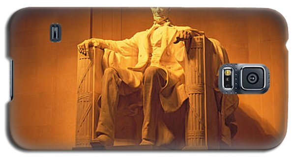 Usa, Washington Dc, Lincoln Memorial Galaxy S5 Case by Panoramic Images