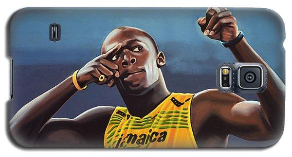 Buy Galaxy S5 Cases - Usain Bolt  Galaxy S5 Case by Paul Meijering