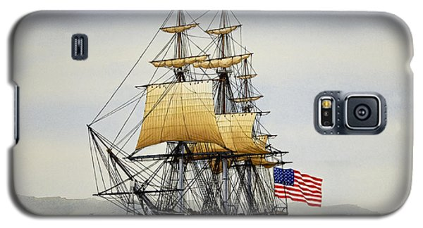 Uss Constitution Galaxy S5 Case by James Williamson