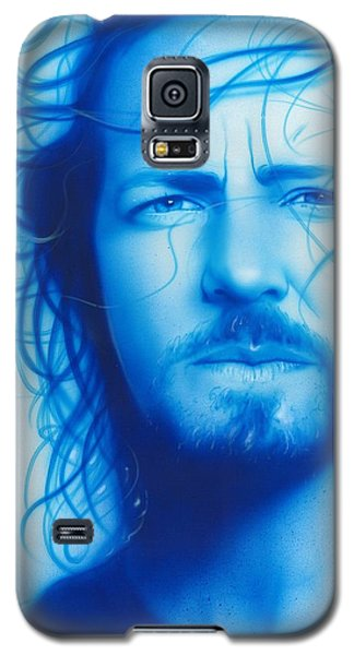 Eddie Vedder - ' Vedder ' Galaxy S5 Case by Christian Chapman Art