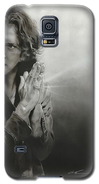 Eddie Vedder - ' Vedder Iv ' Galaxy S5 Case by Christian Chapman Art