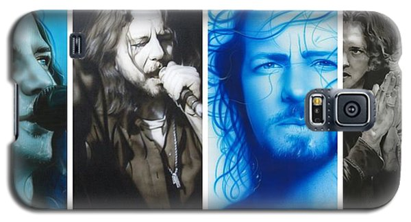 Eddie Vedder - ' Vedder Mosaic I ' Galaxy S5 Case by Christian Chapman Art