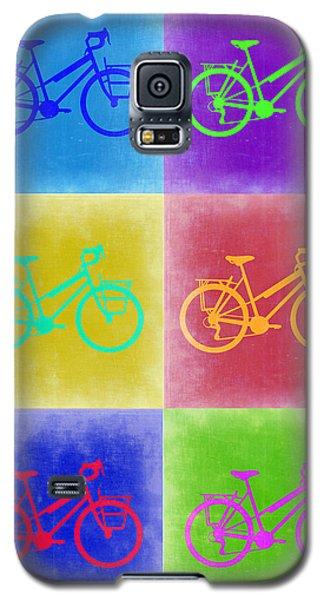 Vintage Bicycle Pop Art 2 Galaxy S5 Case by Naxart Studio