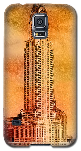 Vintage Chrysler Building Galaxy S5 Case by Andrew Fare