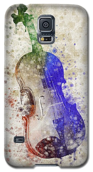 Violin Galaxy S5 Case by Aged Pixel