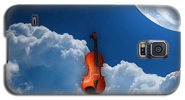 Violin In Heaven Galaxy S5 Case by Marvin Blaine
