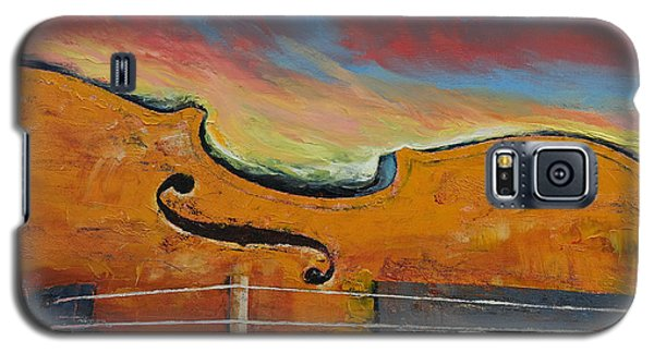 Violin Galaxy S5 Case by Michael Creese