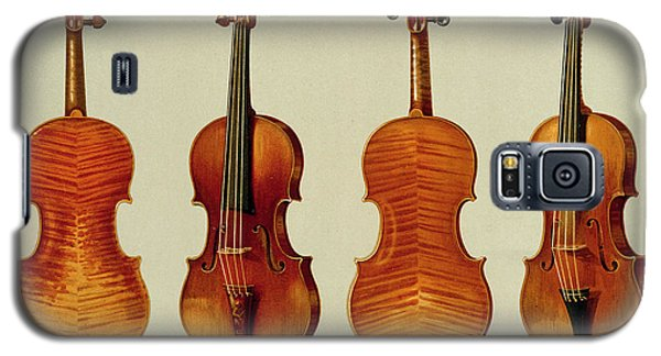 Violins Galaxy S5 Case by Alfred James Hipkins