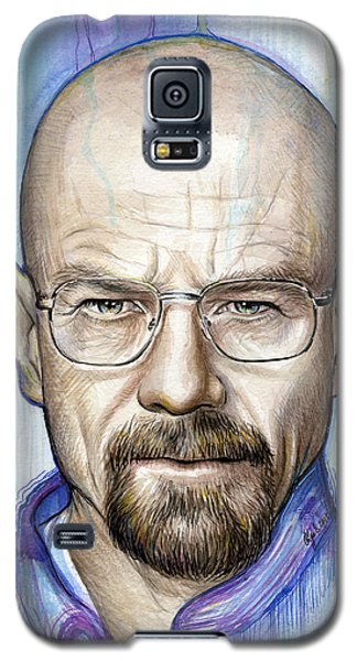 Celebrities Galaxy S5 Cases - Walter White - Breaking Bad Galaxy S5 Case by Olga Shvartsur