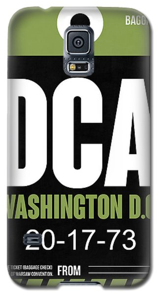 Washington D.c. Airport Poster 2 Galaxy S5 Case by Naxart Studio