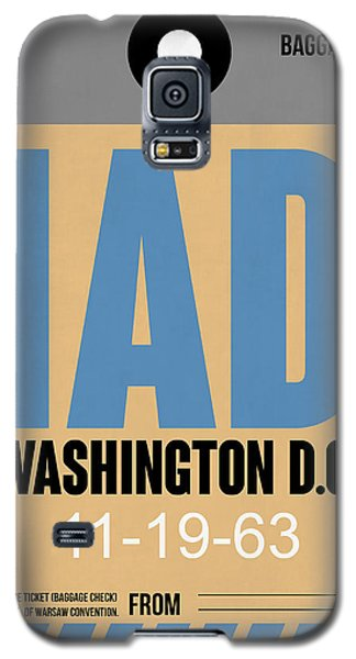 Washington D.c. Airport Poster 3 Galaxy S5 Case by Naxart Studio