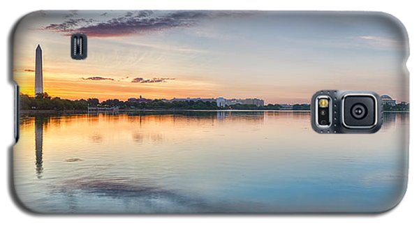 Washington Dc Panorama Galaxy S5 Case by Sebastian Musial