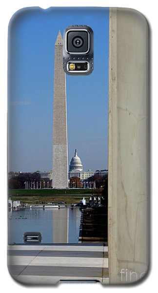 Washington Landmarks Galaxy S5 Case by Olivier Le Queinec