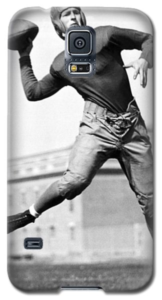 Washington State Quarterback Galaxy S5 Case by Underwood Archives