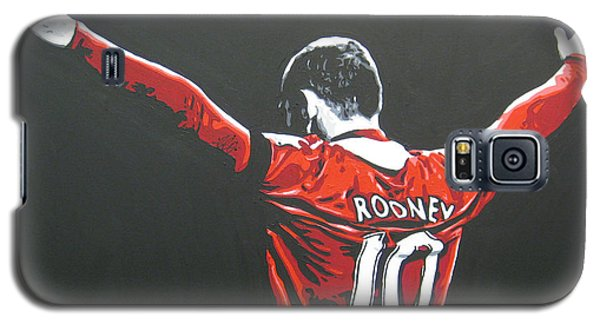 Wayne Rooney - Manchester United Fc 2 Galaxy S5 Case by Geo Thomson