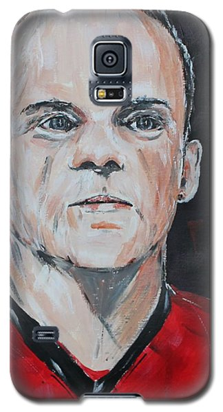 Wayne Rooney Galaxy S5 Case by John Halliday