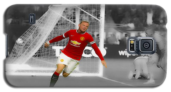 Wayne Rooney Scores Again Galaxy S5 Case by Brian Reaves