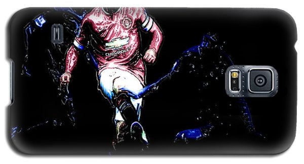Wayne Rooney Working Magic Galaxy S5 Case by Brian Reaves