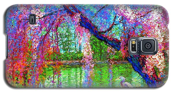 Bird Galaxy S5 Cases - Weeping Beauty Galaxy S5 Case by Jane Small