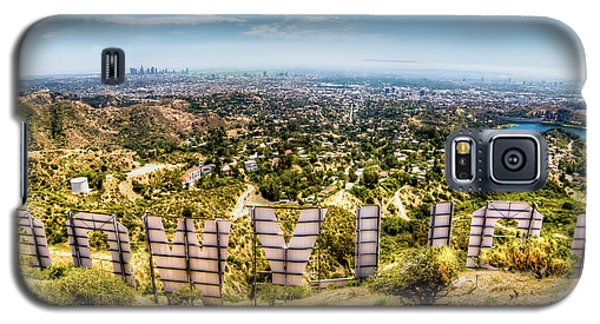 Welcome To Hollywood Galaxy S5 Case by Natasha Bishop