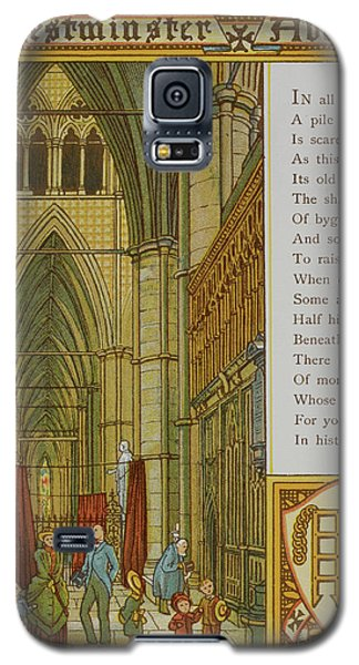 Westminster Abbey Galaxy S5 Case by British Library