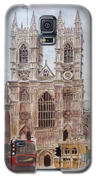 Westminster Abbey Galaxy S5 Case by Henrieta Maneva