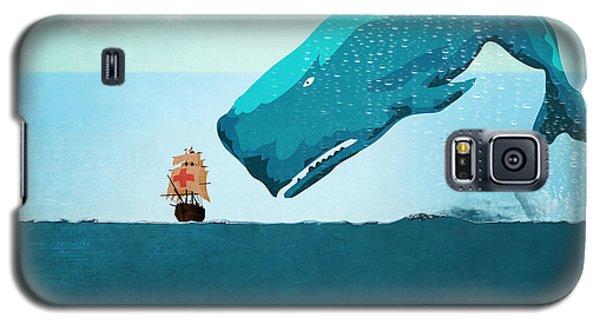 Whale Galaxy S5 Case by Mark Ashkenazi
