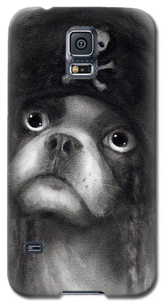 Whimsical Funny French Bulldog Pirate  Galaxy S5 Case by Svetlana Novikova