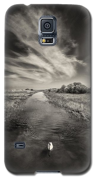 White Swan Galaxy S5 Case by Dave Bowman