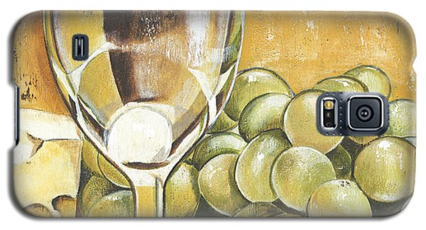 White Wine And Cheese Galaxy S5 Case by Debbie DeWitt