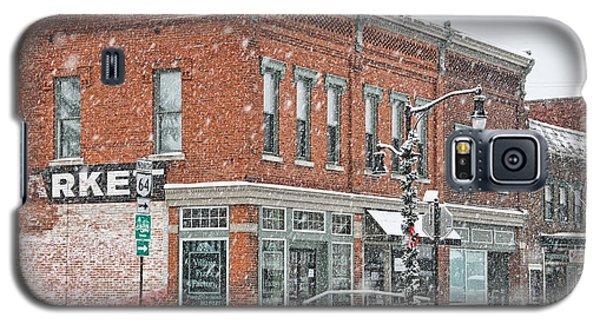 Whitehouse Ohio In Snow 7032 Galaxy S5 Case by Jack Schultz