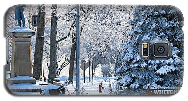 Whitehouse Village Park  7360 Galaxy S5 Case by Jack Schultz