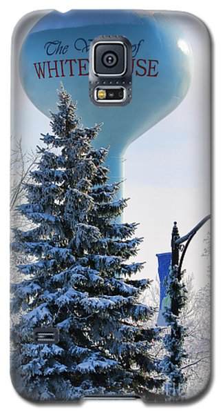 Whitehouse Water Tower  7361 Galaxy S5 Case by Jack Schultz
