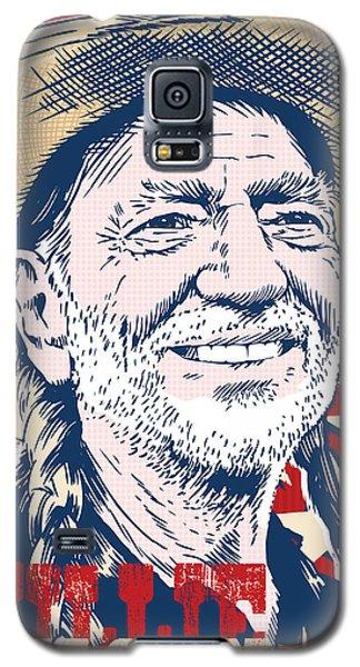 Willie Nelson Pop Art Galaxy S5 Case by Jim Zahniser