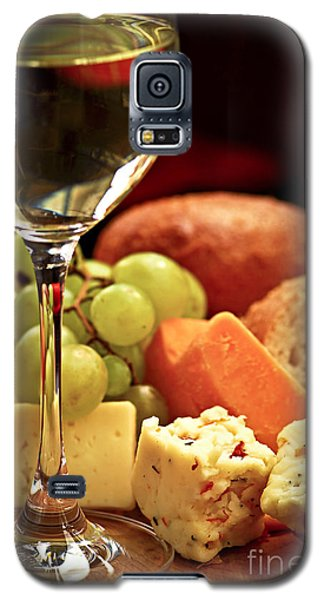 Wine And Cheese Galaxy S5 Case by Elena Elisseeva