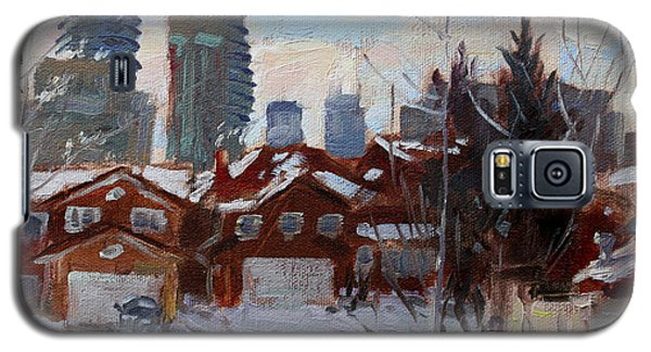 Winter In Mississauga  Galaxy S5 Case by Ylli Haruni