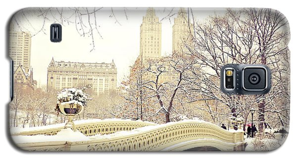Winter - New York City - Central Park Galaxy S5 Case by Vivienne Gucwa