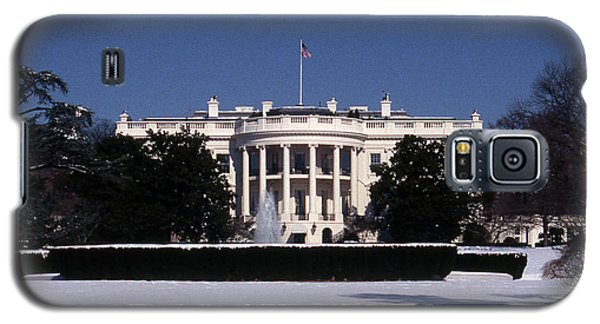 Winter White House  Galaxy S5 Case by Skip Willits