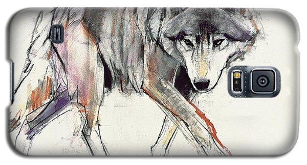 Wolf  Galaxy S5 Case by Mark Adlington