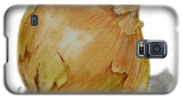 Yellow Onion Galaxy S5 Case by Irina Sztukowski